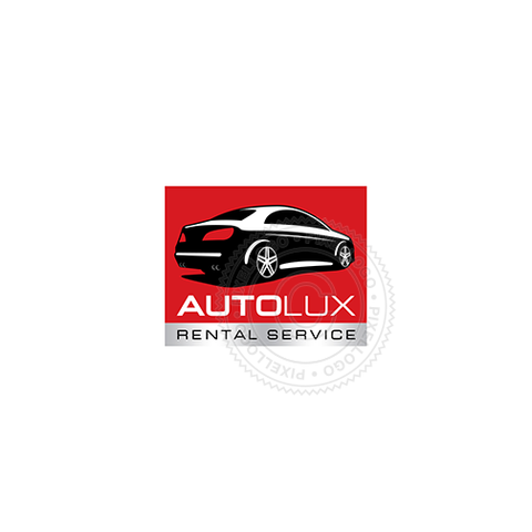 Car Rental Service-Logo Template-Pixellogo