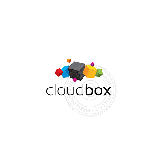 Cloud Box - Pixellogo