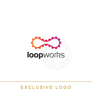 Gear Loop - Pixellogo