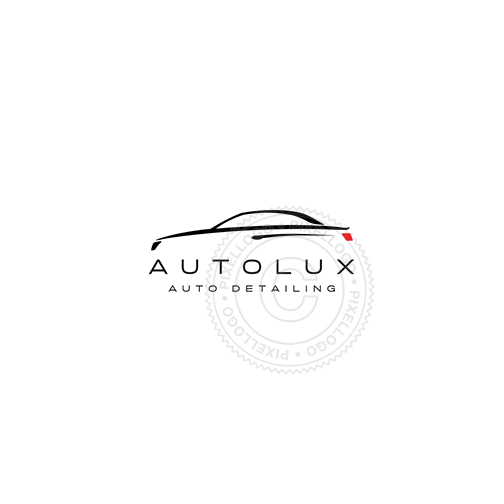 Luxury Car Dealer-Logo Template-Pixellogo