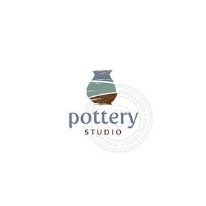 Pottery Shop - Pixellogo