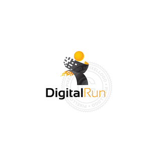 Digital Run Shop - Pixellogo