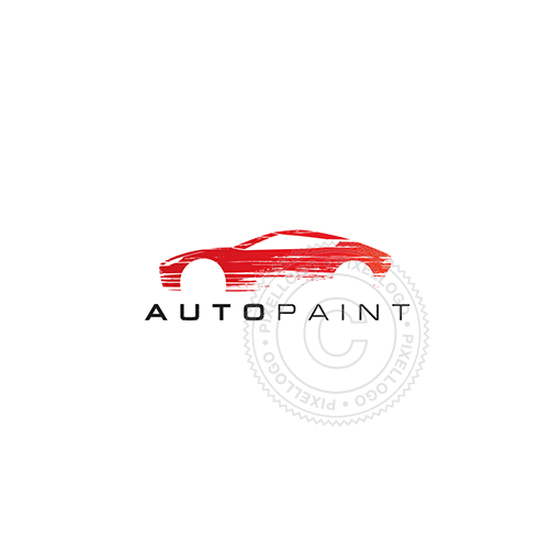 Auto Body Shop - Pixellogo