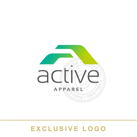 Active Apparel Logo - Pixellogo
