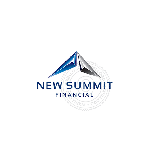 3D Summit logo - Financial investment company | Pixellogo
