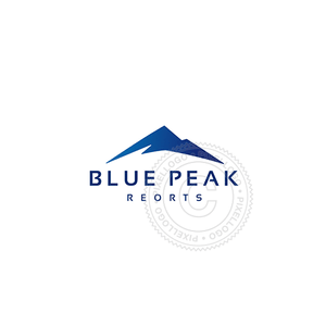 Blue Mountain-Logo Template-Pixellogo