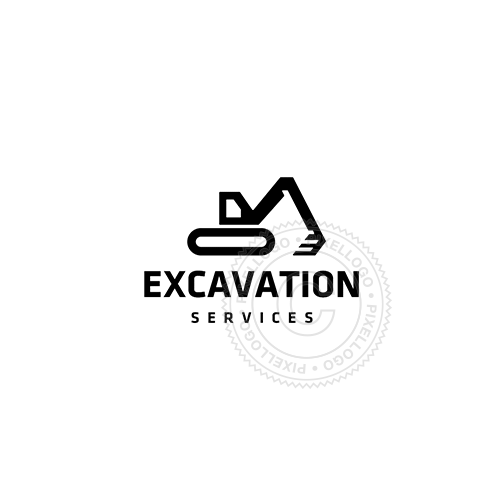 Excavation Machines - Pixellogo