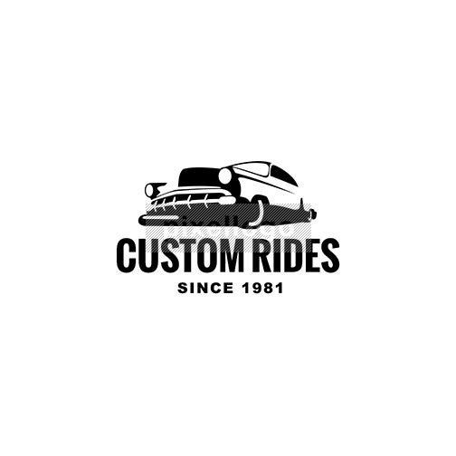 Hot Rod Custom Rides Garage - Pixellogo