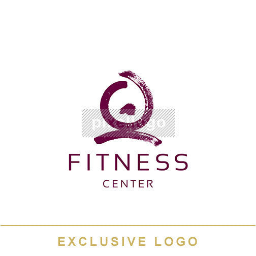 Fitness Trainers - Girl Exercising | Pixellogo
