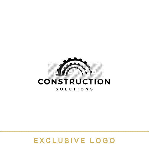 Construction Gear logo | Pixellogo