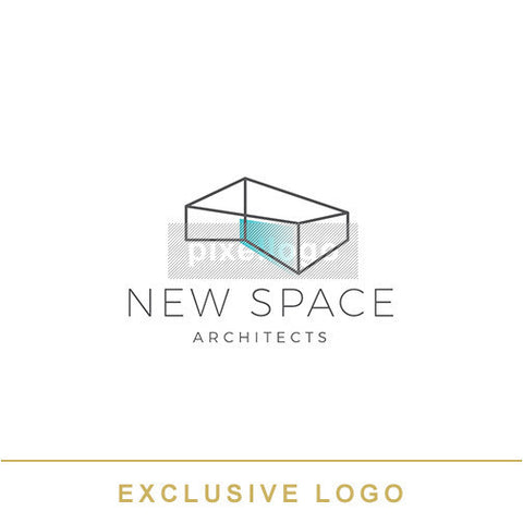 New Space - Architecture Studio Logo - Pixellogo