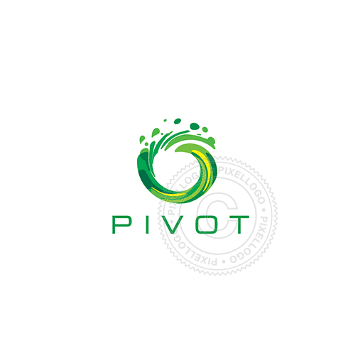 Green Wave Logo - Pixellogo
