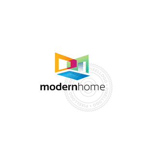 Modern Home Design Studio - Pixellogo
