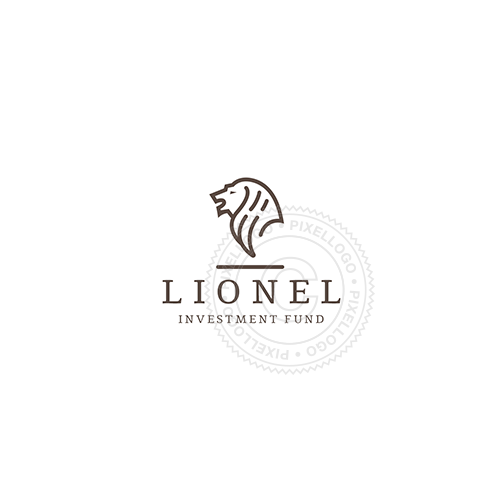Lion Investment Fund-Logo Template-Pixellogo