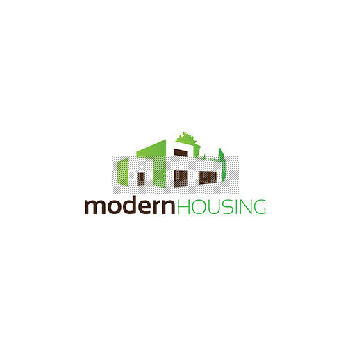 Modern Housing Logo - Pixellogo