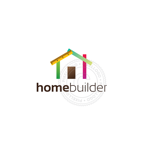 House Contractor logo | Pixellogo