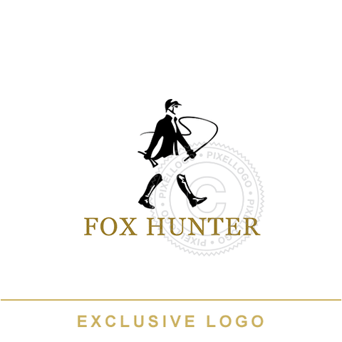 Fox Hunter logo - Pixellogo