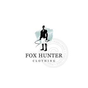 Fox Hunter - Pixellogo