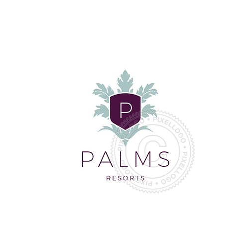 Palms Leaves Resort And Spa - Pixellogo