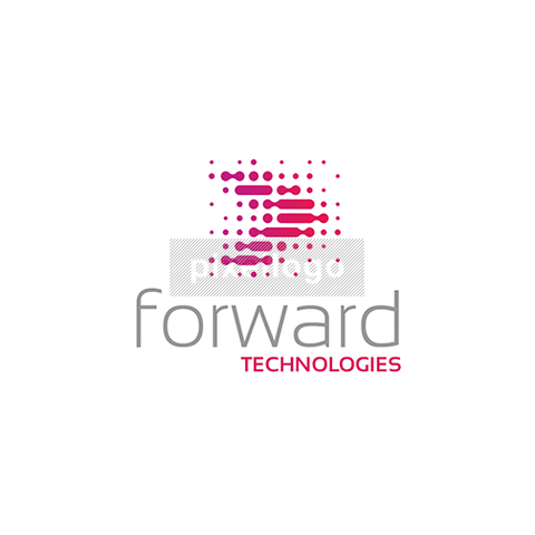 Forward Technology Logo - Digital arrow speeding | Pixellogo