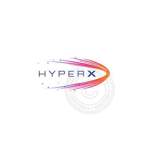 Hyper Data Streaming - Pixellogo