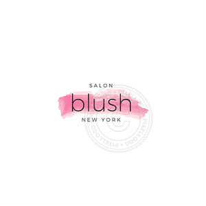 Blush Makeup Studio - Pixellogo