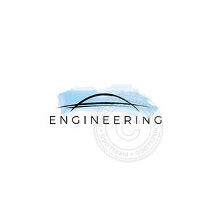 Engineering Bridge - Pixellogo