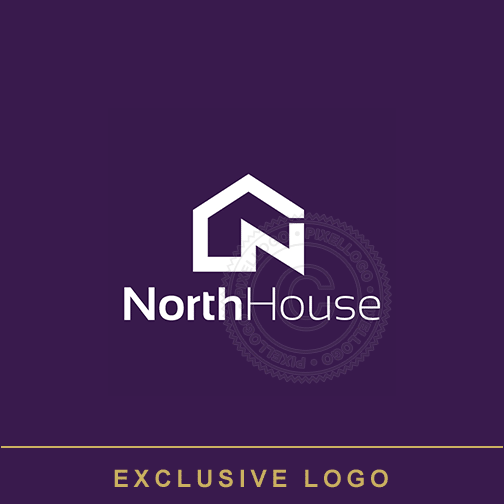 House Logo - Construction company | Pixellogo