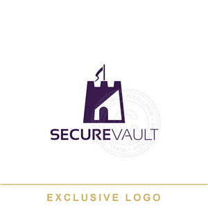 Fortress Security Logo - Storage Company | Pixellogo