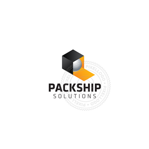 Fulfilment Center-Logo Template-Pixellogo
