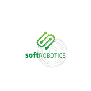 Robotics Software - logo template | Pixellogo