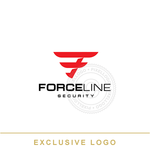 Force Line Security - Pixellogo