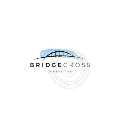 Blue Bridge logo - Pixellogo