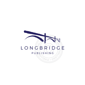 Long Bridge Publishing logo | Pixellogo
