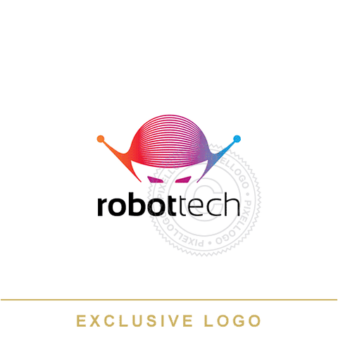Robotic Technology Logo - Robot head logo | Pixellogo