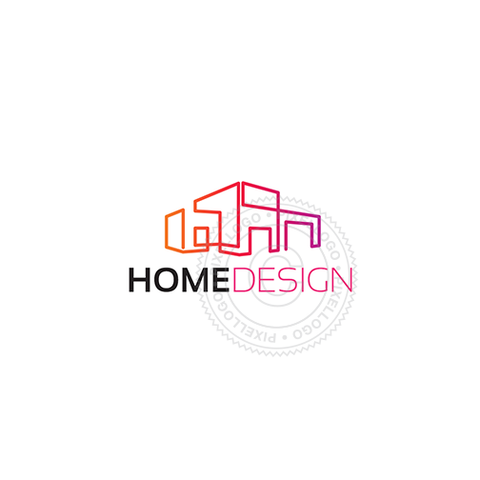 Modern Home Logo design
