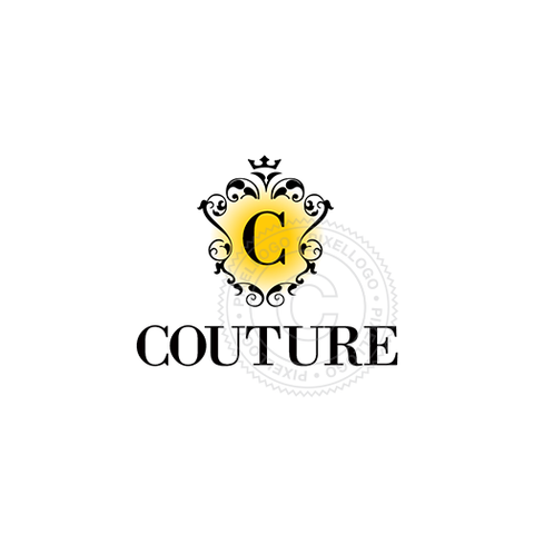 Couture Fashion Logo - floral logo design | Pixellogo