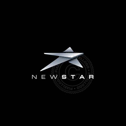 New Star Logo - Steel Sheet Star Logo | Pixellogo