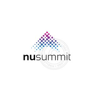 New Summit Mountain Logo - Pixellogo
