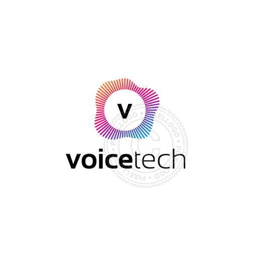 Voice Technology Logo - Sound and Audio technician | Pixellogo