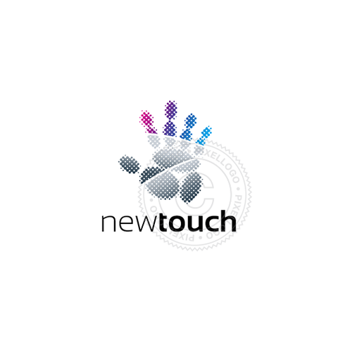 Touch Technology Logo - Pixellogo
