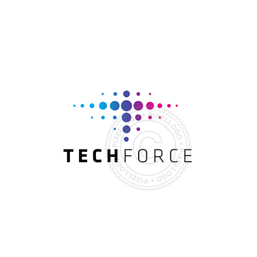 Tech Force Logo - Pixellogo