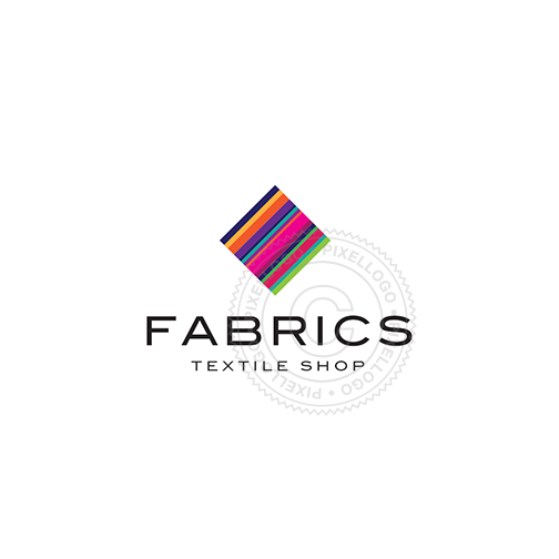 Fabric and Textile Shop - Pixellogo