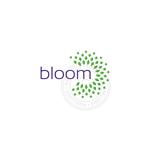 Bloom Logo - Pixellogo