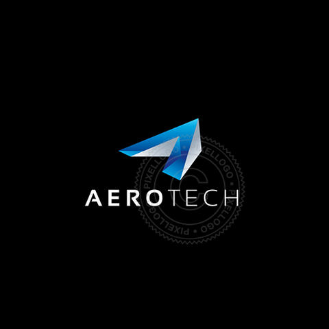 Aviation Industry Logo - 3D Arrow A Logo | Pixellogo