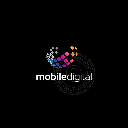 Mobile Communication Logo - Global communication logo