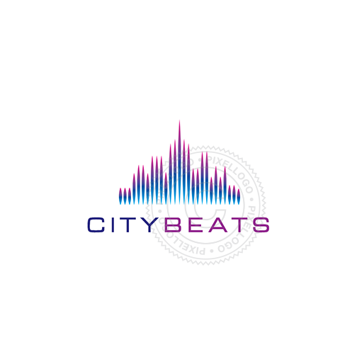City Skyline Logo - Pixellogo