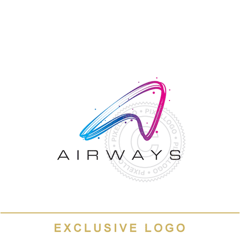Aviation Arrow Logo - Pixellogo