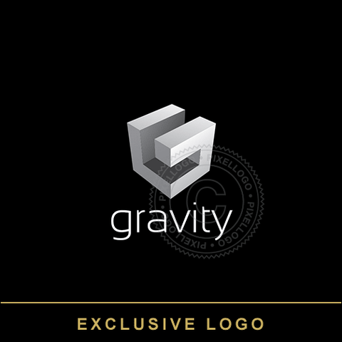 Gravity Architect Studio Logo - Pixellogo