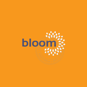 Flower Bloom Logo - Pixellogo
